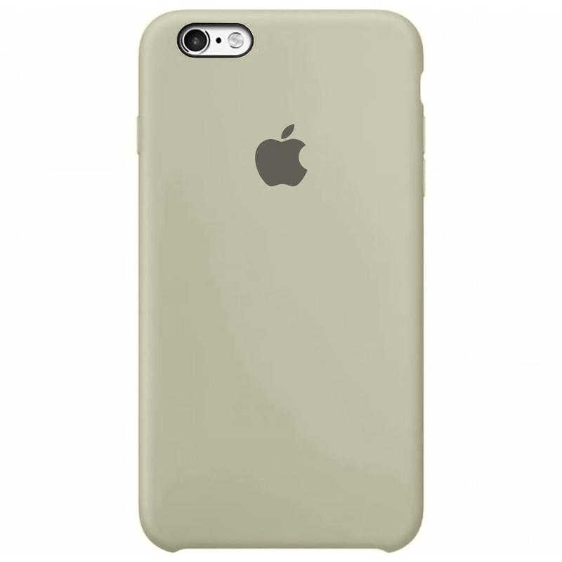 Case Capinha Cinza para iPhone 6 Plus e 6s Plus de Silicone