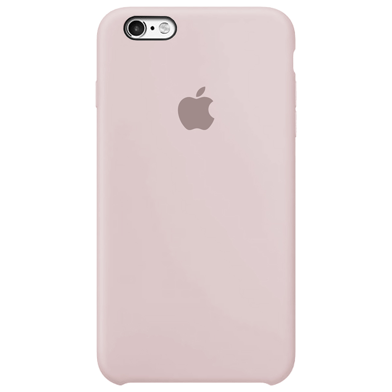 Case Capinha Rosa Areia para iPhone 6 Plus e 6s Plus de Silicone