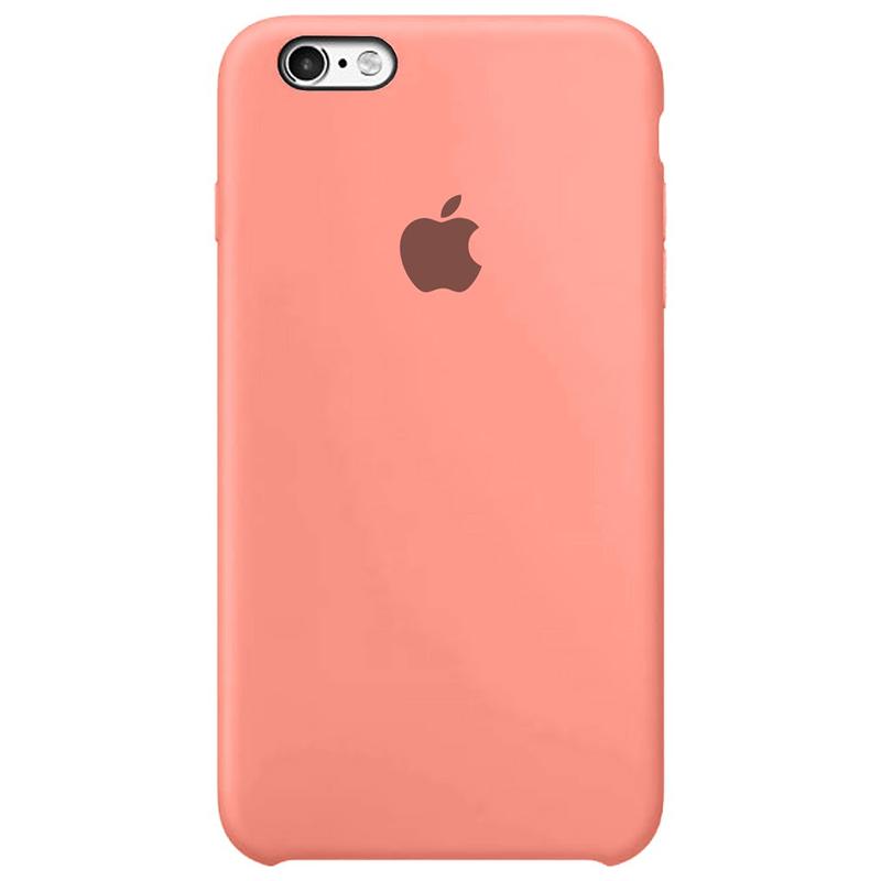 Case Capinha Rosa Chiclete para iPhone 6 Plus e 6s Plus de Silicone
