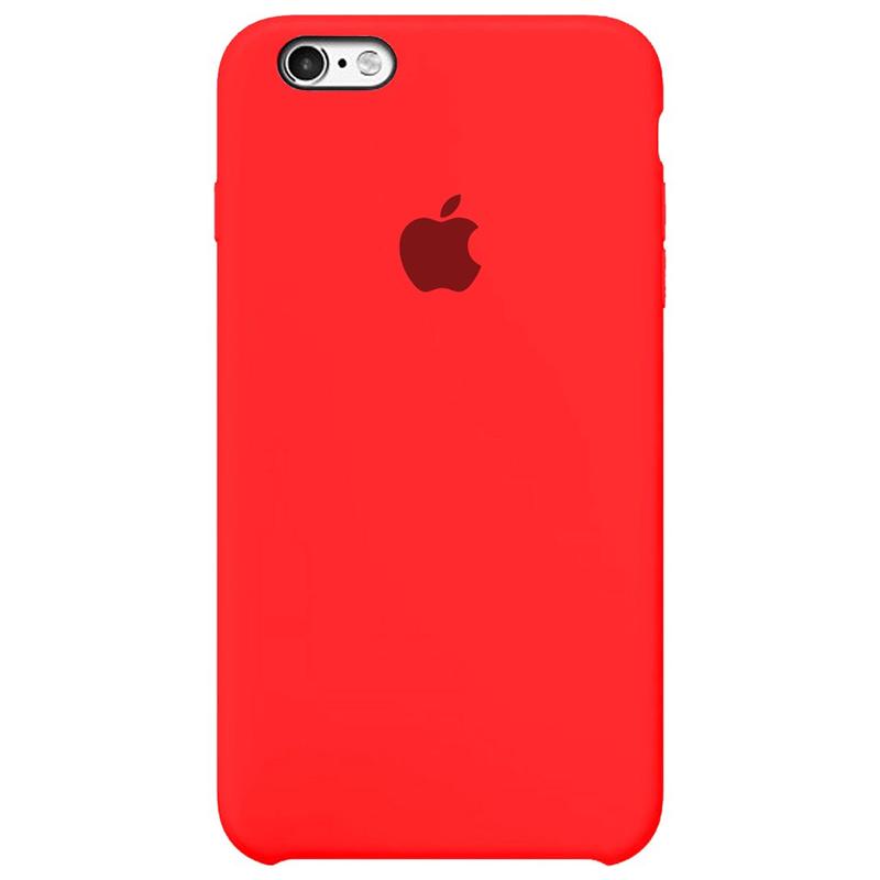 Case Capinha Rosa Neon para iPhone 6 Plus e 6s Plus de Silicone