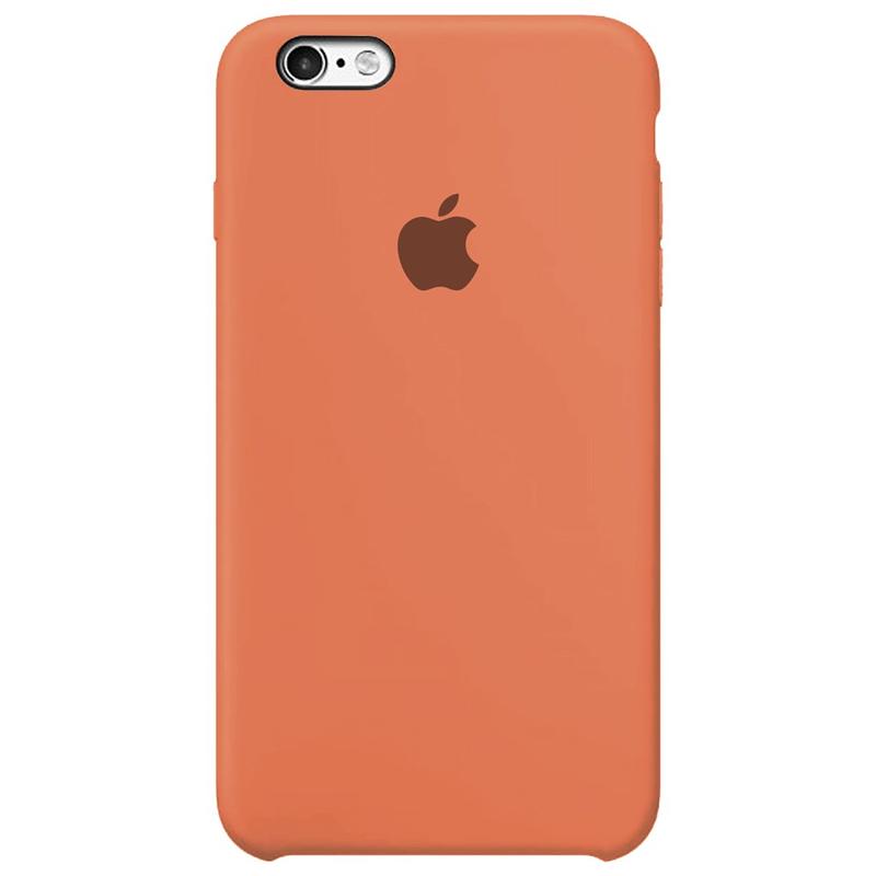 Case Capinha Tangerina para iPhone 6 Plus e 6s Plus de Silicone