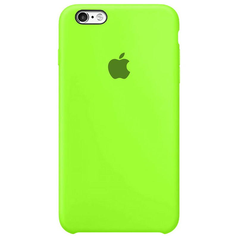 Case Capinha Verde Neon para iPhone 6 Plus e 6s Plus de Silicone