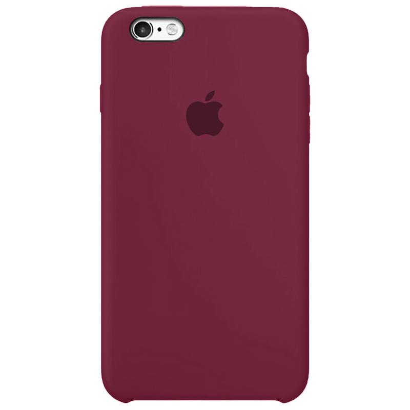 Case Capinha Vinho para iPhone 6 Plus e 6s Plus de Silicone
