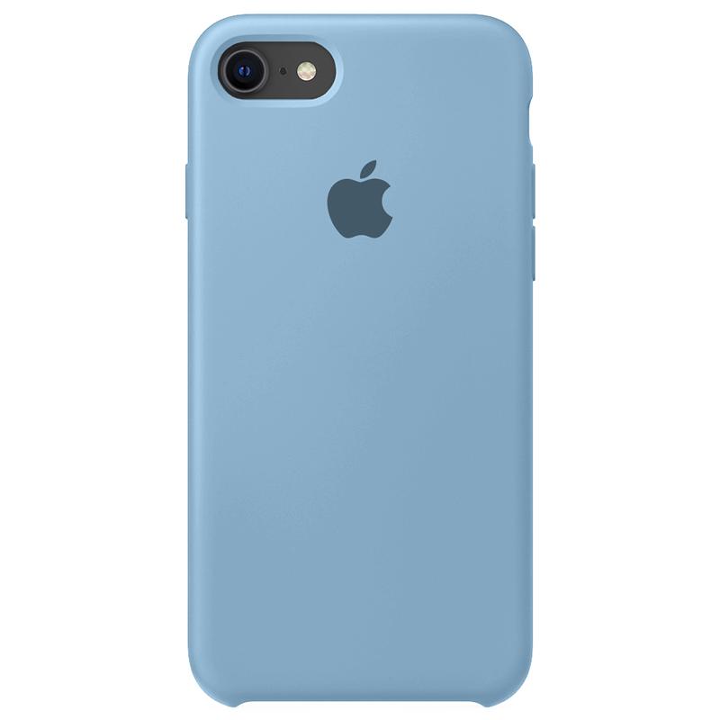 Case Capinha Azul Caribe para iPhone 7, 8 e SE 2º Geração de Silicone