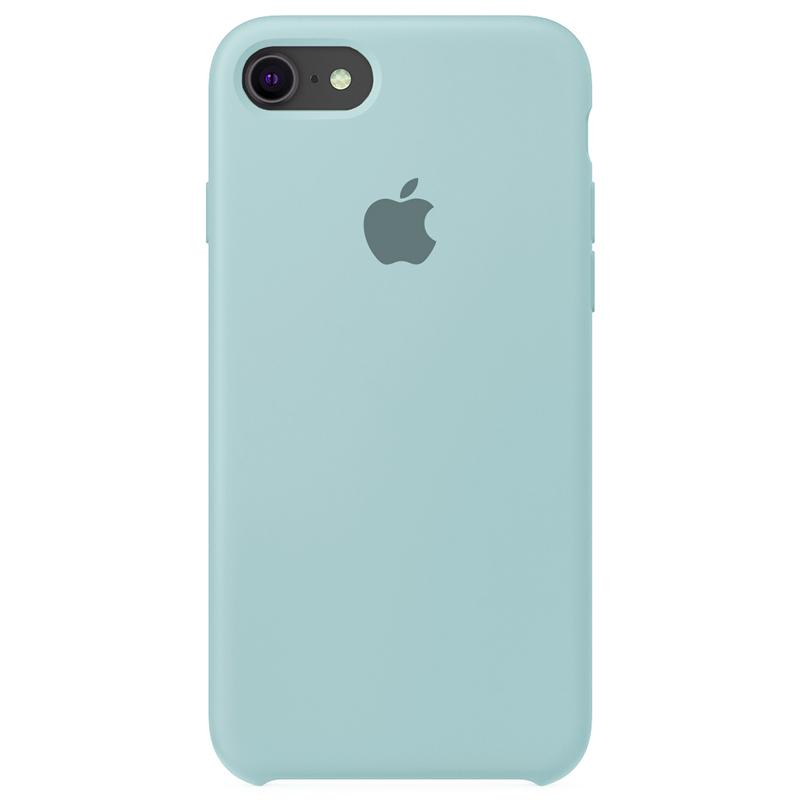 Case Capinha Azul Céu para iPhone 7, 8 e SE 2º Geração de Silicone