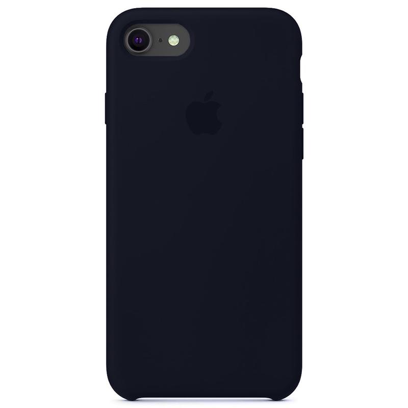 Case Capinha Azul Cobalto para iPhone 7, 8 e SE 2º Geração de Silicone