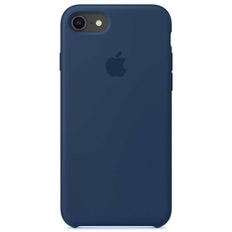Case Capinha Azul Horizonte para iPhone 7, 8 e SE 2º Geração de Silicone