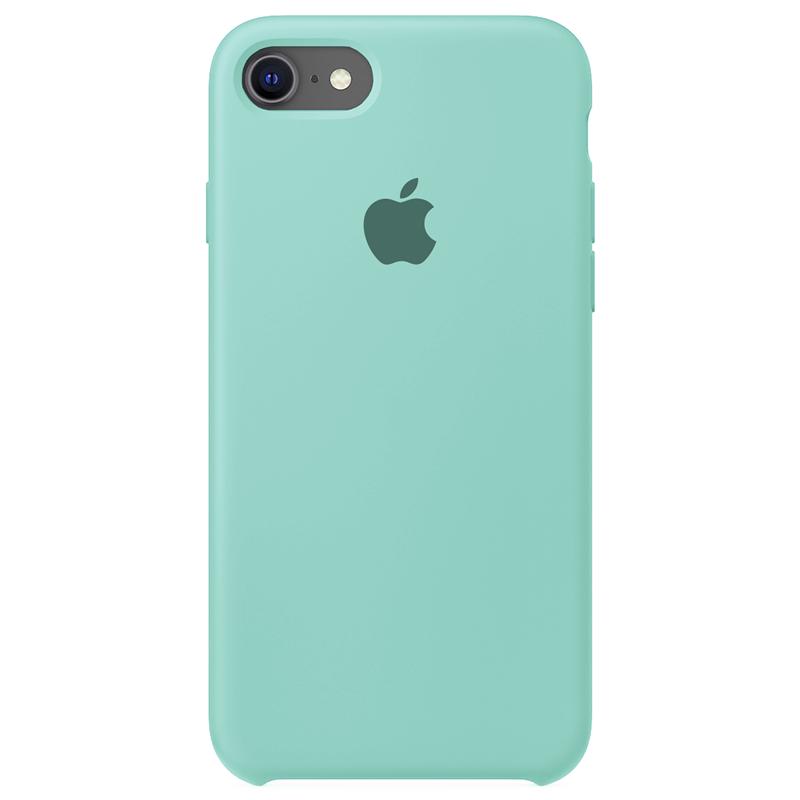 Case Capinha Azul Tiffany para iPhone 7, 8 e SE 2º Geração de Silicone
