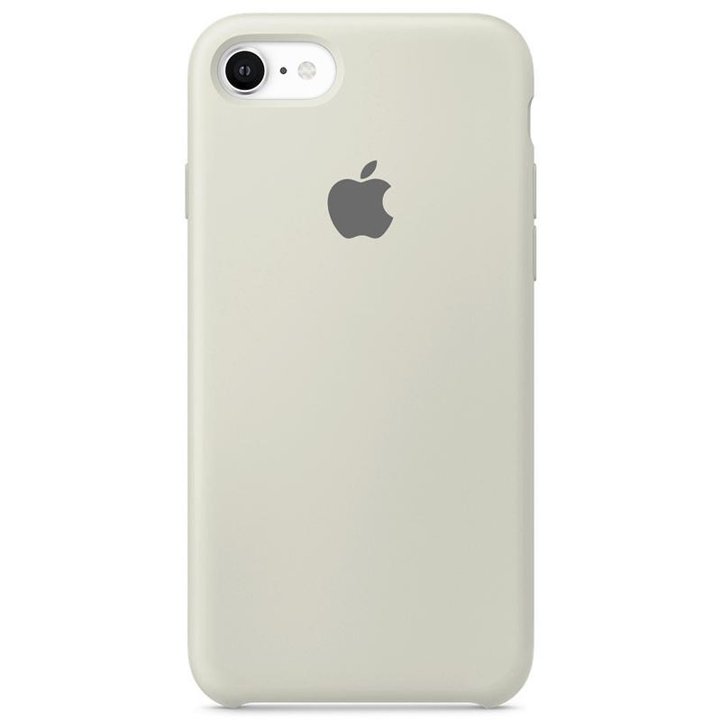 Case Capinha Branco Off-White para iPhone 7, 8 e SE 2º Geração de Silicone