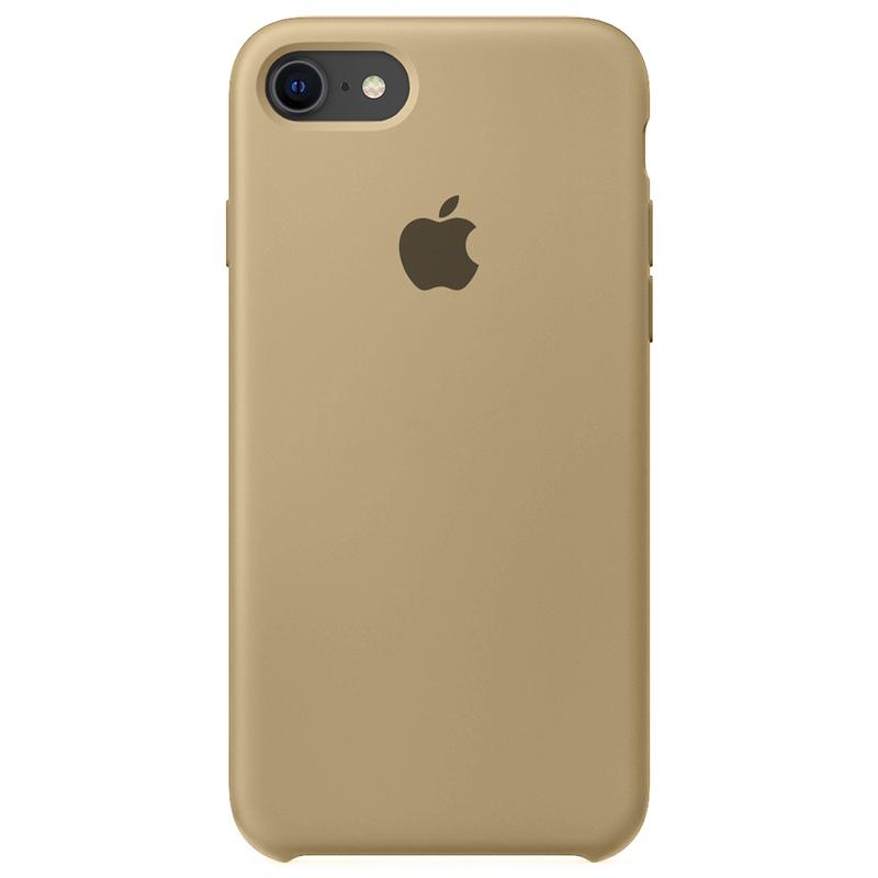 Case Capinha Caramelo para iPhone 7, 8 e SE 2º Geração de Silicone
