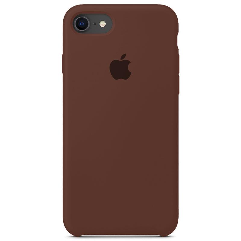 Case Capinha Chocolate para iPhone 7, 8 e SE 2º Geração de Silicone