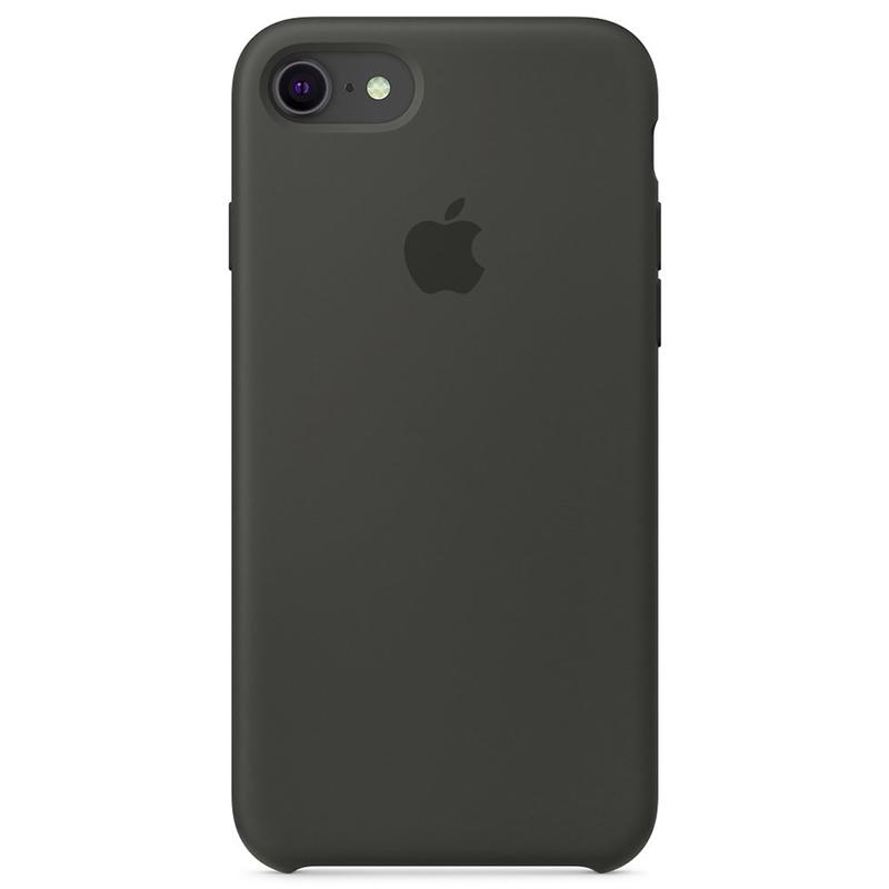 Case Capinha Cinza Escuro para iPhone 7, 8 e SE 2º Geração de Silicone