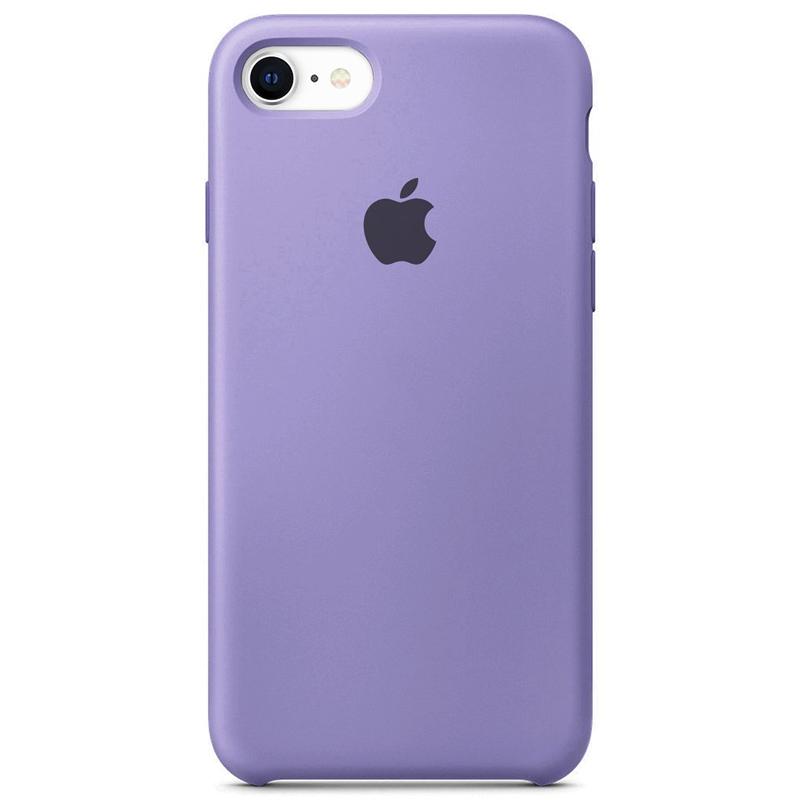 Case Capinha Lilás para iPhone 7, 8 e SE 2º Geração de Silicone