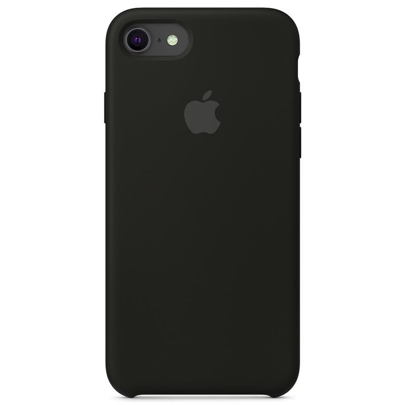 Case Capinha Preta para iPhone 7, 8 e SE 2º Geração de Silicone