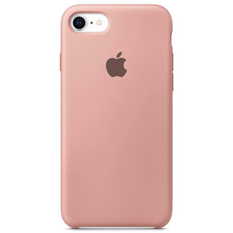 Case Capinha Rosa Chiclete para iPhone 7, 8 e SE 2º Geração de Silicone