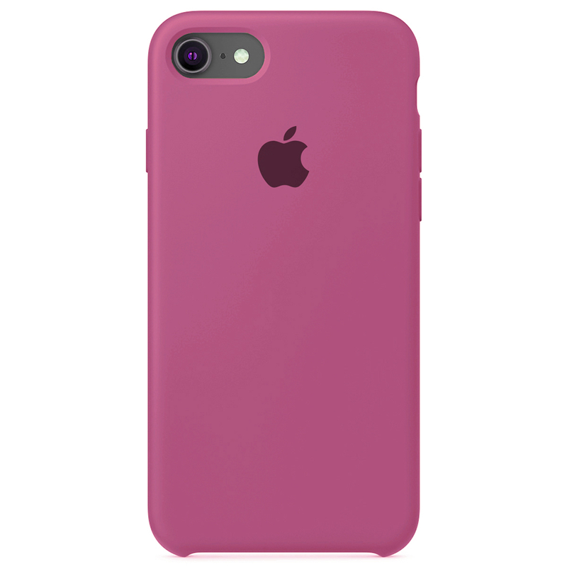 Case Capinha Rosa Hibisco para iPhone 7, 8 e SE 2º Geração de Silicone
