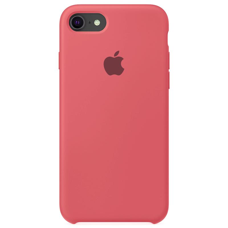 Case Capinha Rosa Neon o para iPhone 7, 8 e SE 2º Geração de Silicone