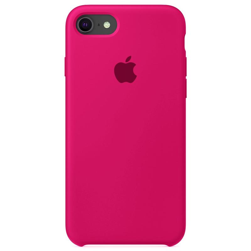 Case Capinha Rosa Pink para iPhone 7, 8 e SE 2º Geração de Silicone
