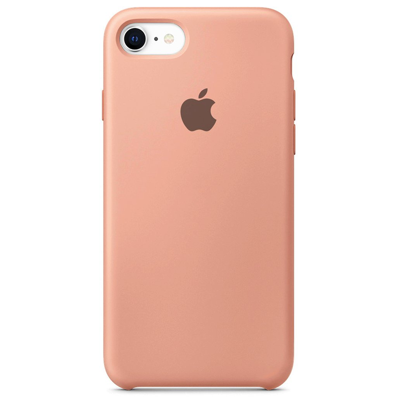Case Capinha Rosa para iPhone 7, 8 e SE 2º Geração de Silicone