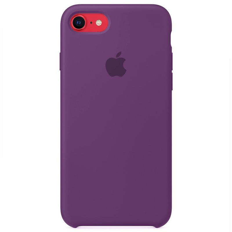 Case Capinha Roxa para iPhone 7, 8 e SE 2º Geração de Silicone