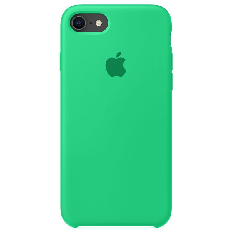 Case Capinha Verde Água para iPhone 7, 8 e SE 2º Geração de Silicone