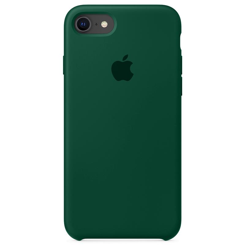 Case Capinha Verde Floresta para iPhone 7, 8 e SE 2º Geração de Silicone
