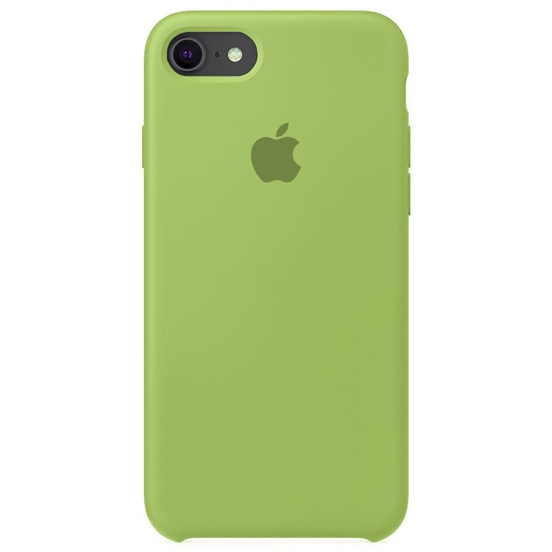 Case Capinha Verde Menta para iPhone 7, 8 e SE 2º Geração de Silicone