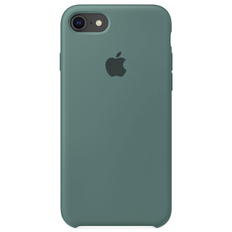 Case Capinha Verde Pacífico para iPhone 7, 8 e SE 2º Geração de Silicone