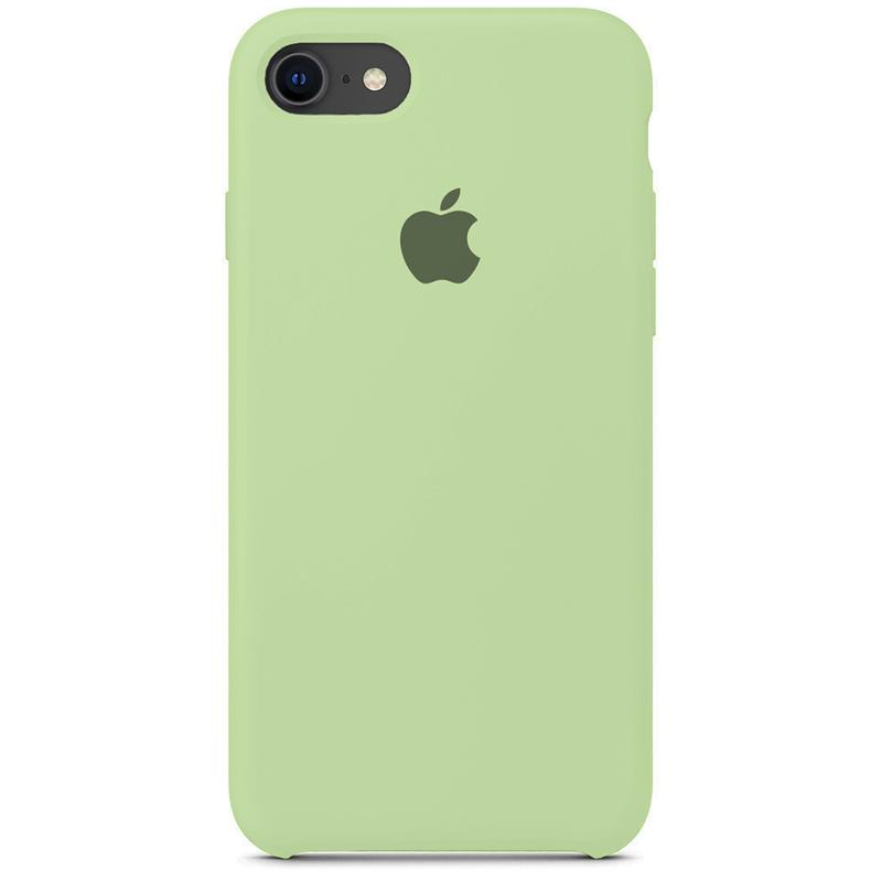 Case Capinha Verde Pistache para iPhone 7, 8 e SE 2º Geração de Silicone