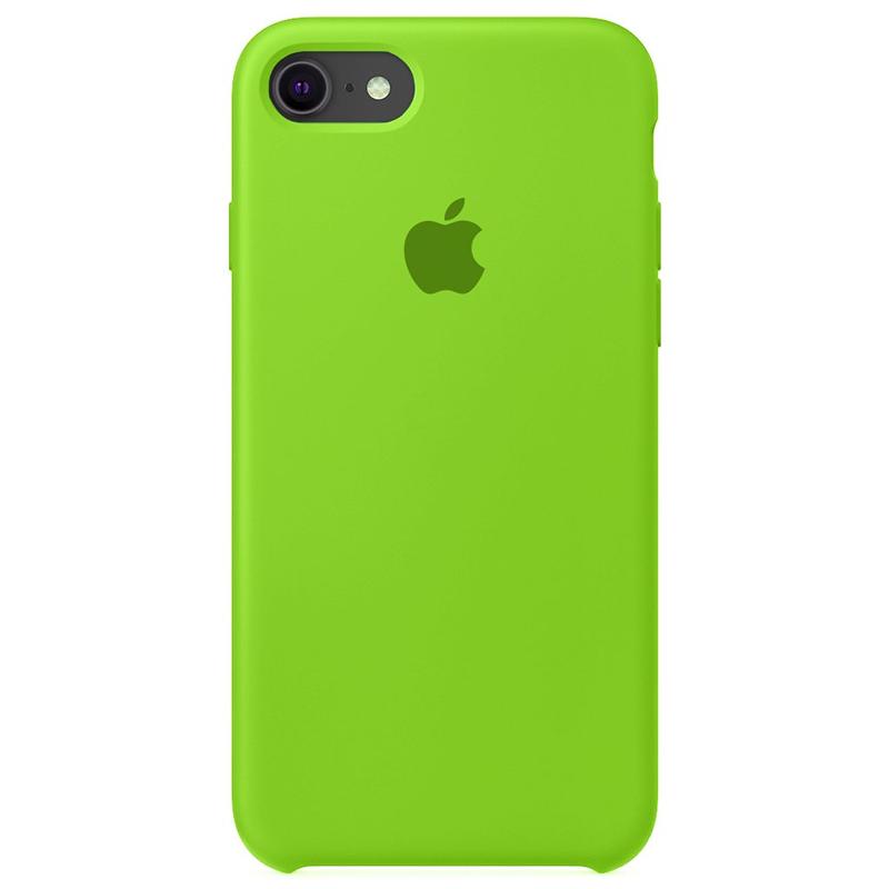 Case Capinha Verde para iPhone 7, 8 e SE 2º Geração de Silicone