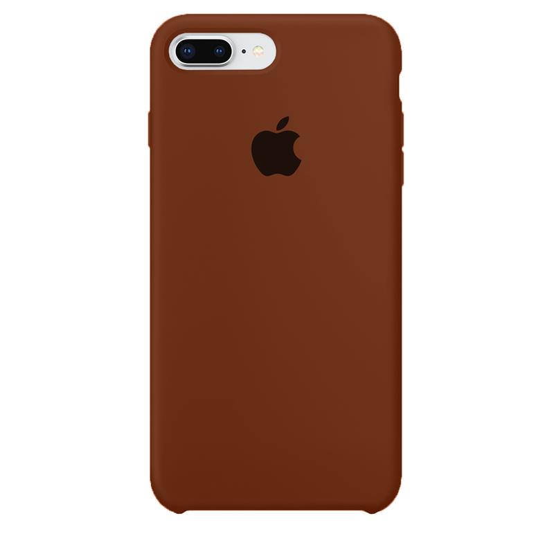 Case Capinha de Silicone Chocolate para iPhone 7 Plus e 8 Plus