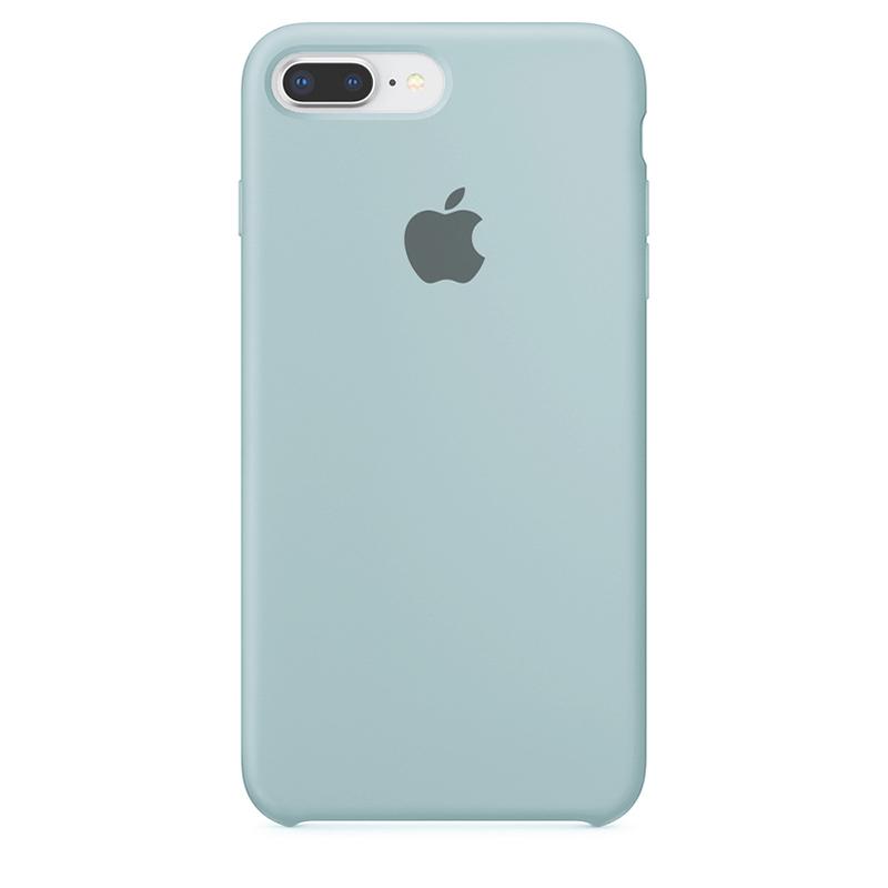Case Capinha de Silicone Azul Céu para iPhone 7 Plus e 8 Plus