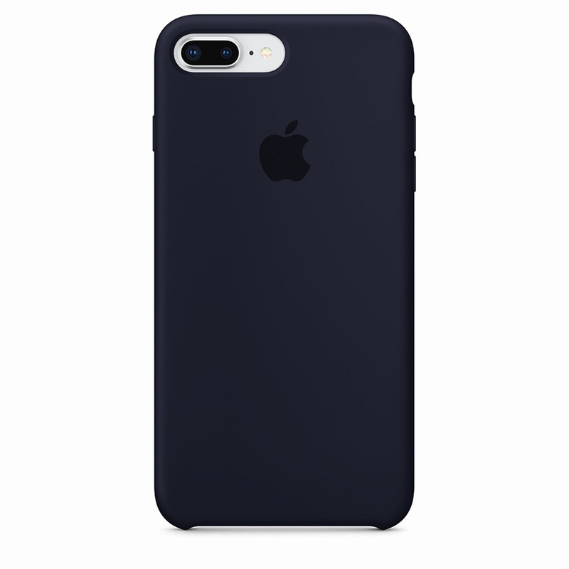 Case Capinha de Silicone Azul Cobalto para iPhone 7 Plus e 8 Plus