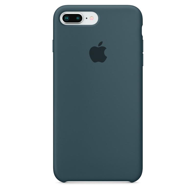 Case Capinha de Silicone Azul Horizonte para iPhone 7 Plus e 8 Plus