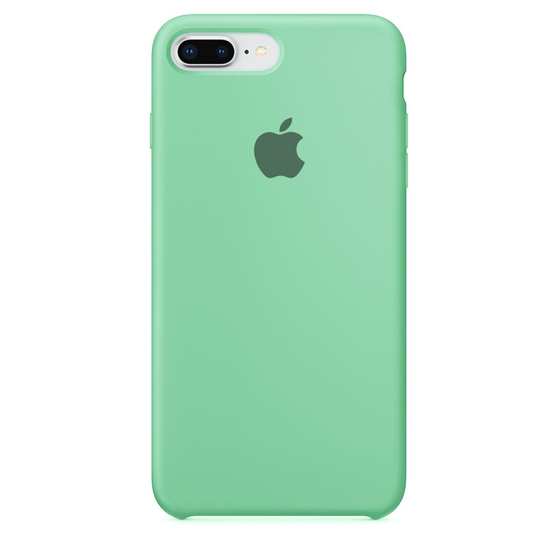 Case Capinha de Silicone Azul Tiffany para iPhone 7 Plus e 8 Plus