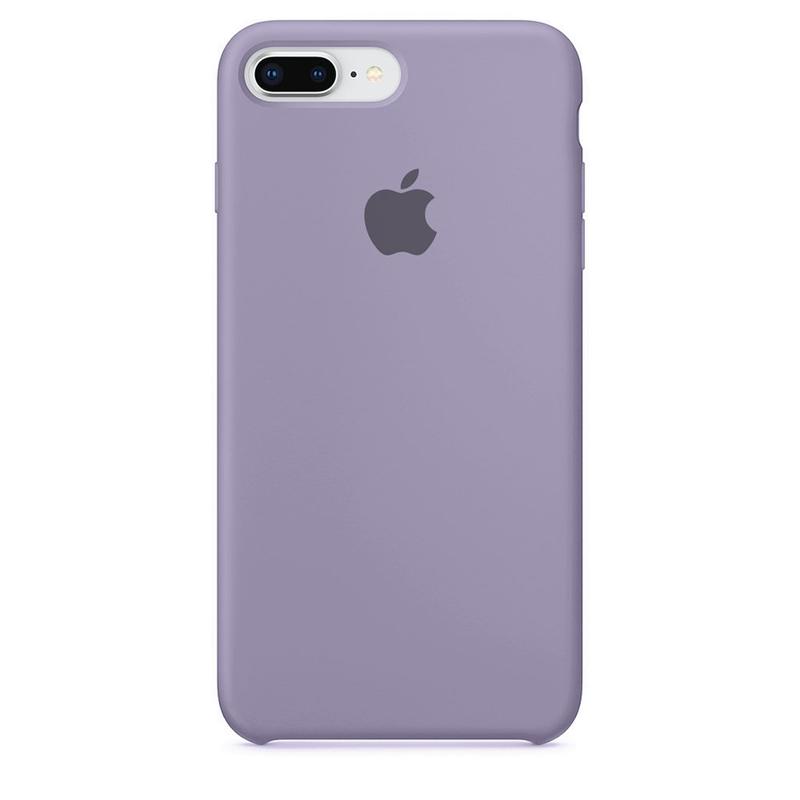 Case Capinha de Silicone Lilás para iPhone 7 Plus e 8 Plus