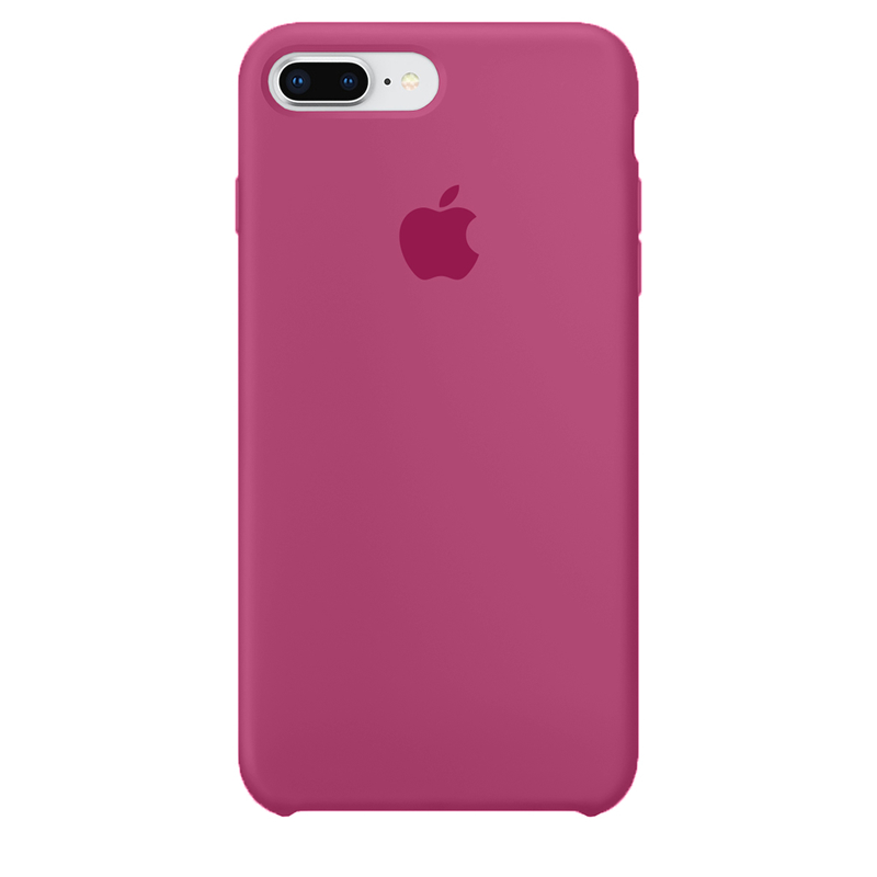 Case Capinha de Silicone Hibisco para iPhone 7 Plus e 8 Plus