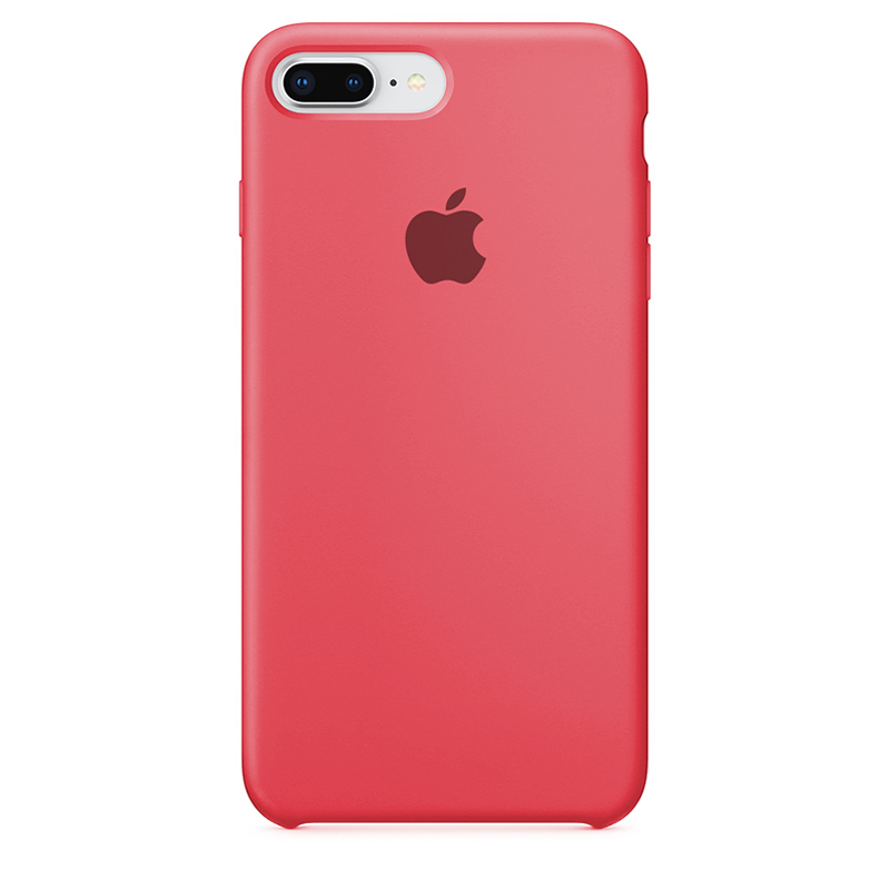 Case Capinha de Silicone Rosa Neon para iPhone 7 Plus e 8 Plus