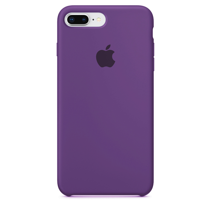 Case Capinha de Silicone Roxa para iPhone 7 Plus e 8 Plus