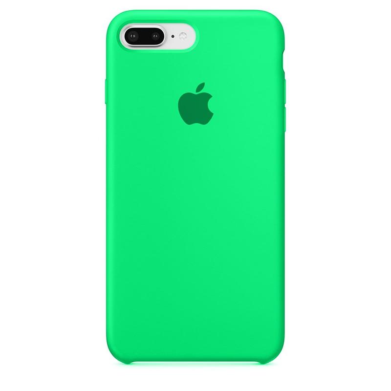Case Capinha de Silicone Verde Água para iPhone 7 Plus e 8 Plus