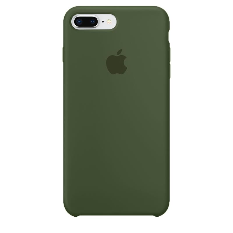 Case Capinha de Silicone Verde Bandeira para iPhone 7 Plus e 8 Plus
