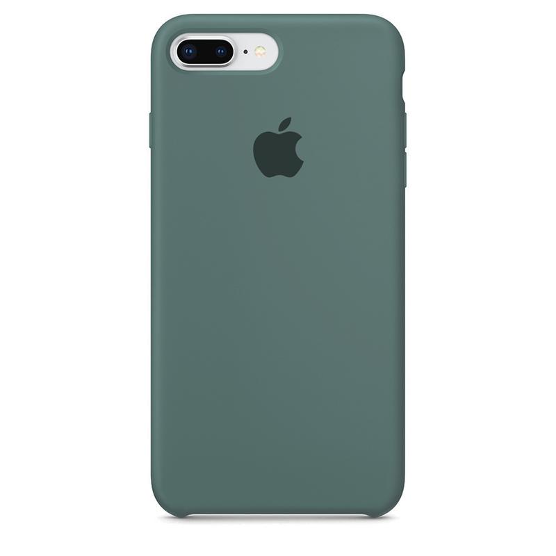 Case Capinha de Silicone Verde Pacífico para iPhone 7 Plus e 8 Plus