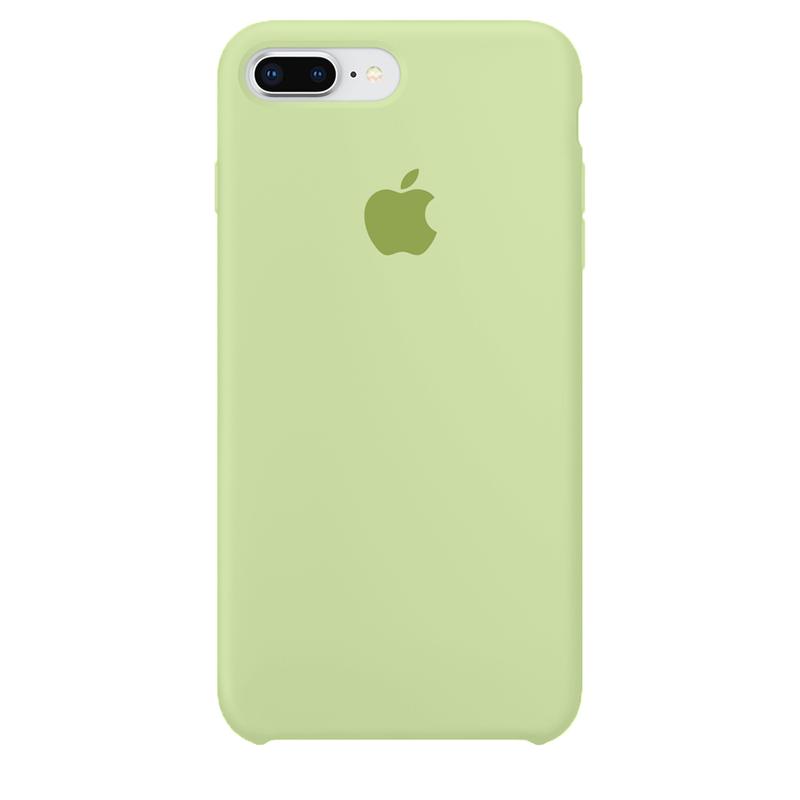 Case Capinha de Silicone Verde Pistache para iPhone 7 Plus e 8 Plus