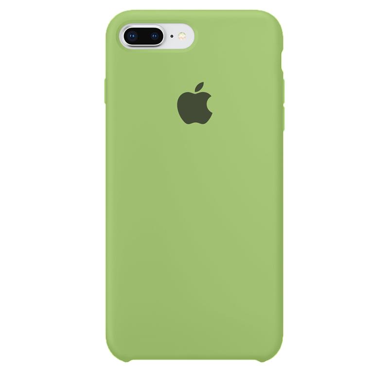 Case Capinha de Silicone Verde para iPhone 7 Plus e 8 Plus