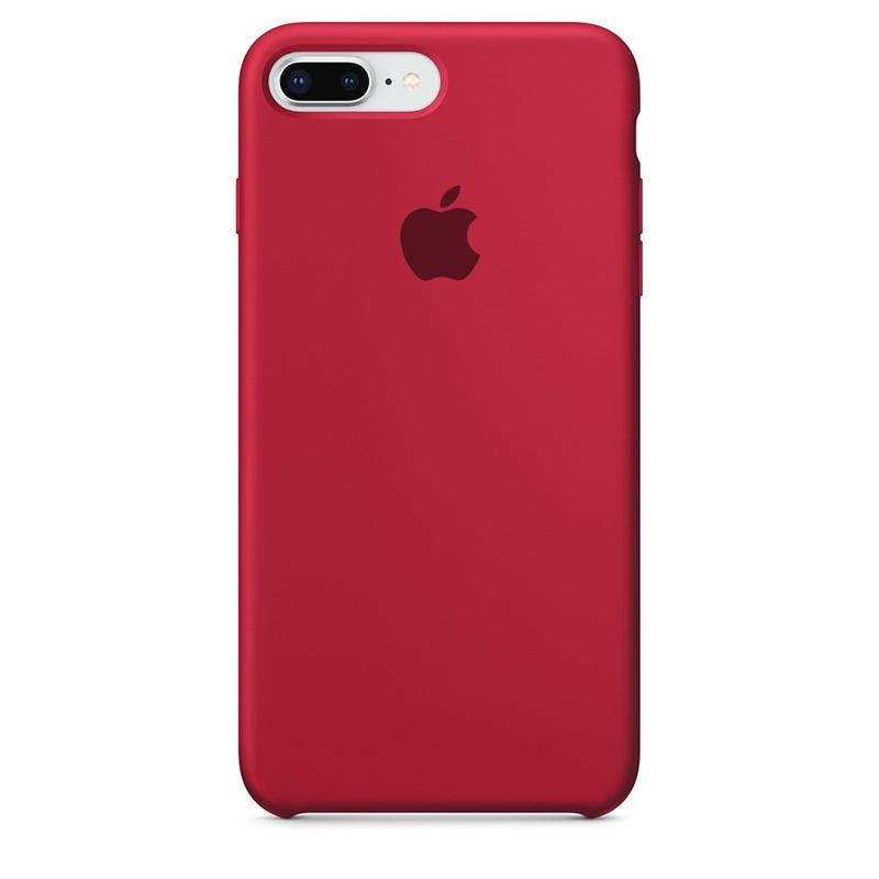Case Capinha de Silicone Vinho para iPhone 7 Plus e 8 Plus