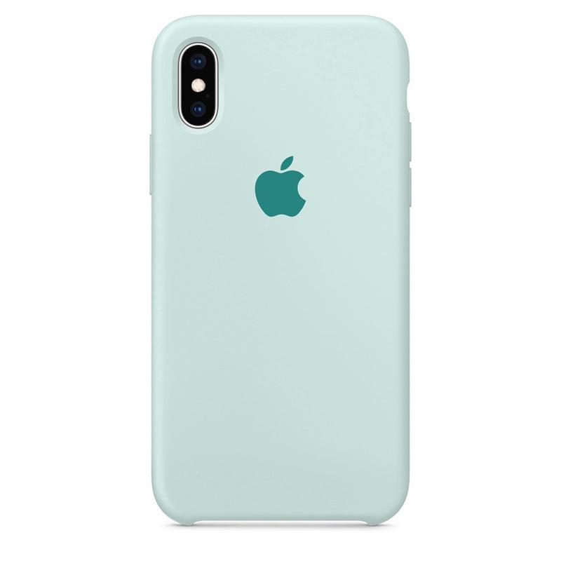 Case Capinha Azul Céu para iPhone X e XS de Silicone