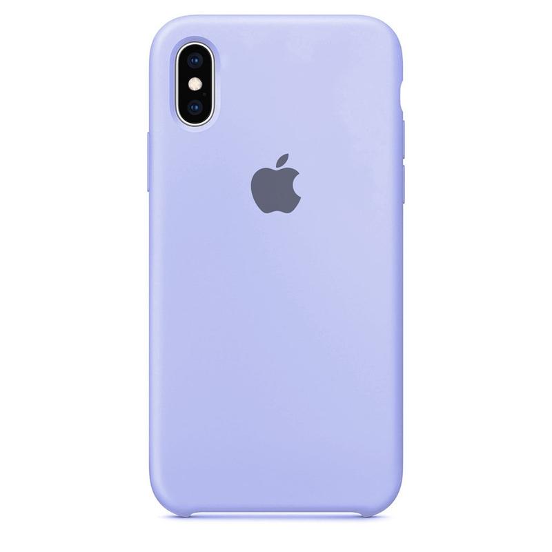 Case Capinha Azul Claro para iPhone X e XS de Silicone
