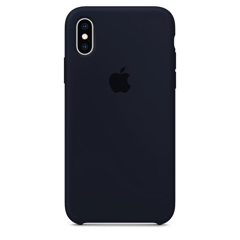 Case Capinha Azul Cobalto para iPhone X e XS de Silicone