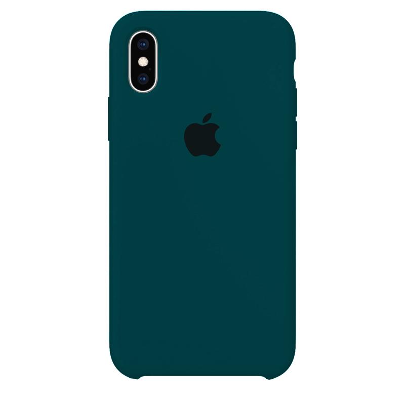 Case Capinha Azul Horizonte para iPhone X e XS de Silicone