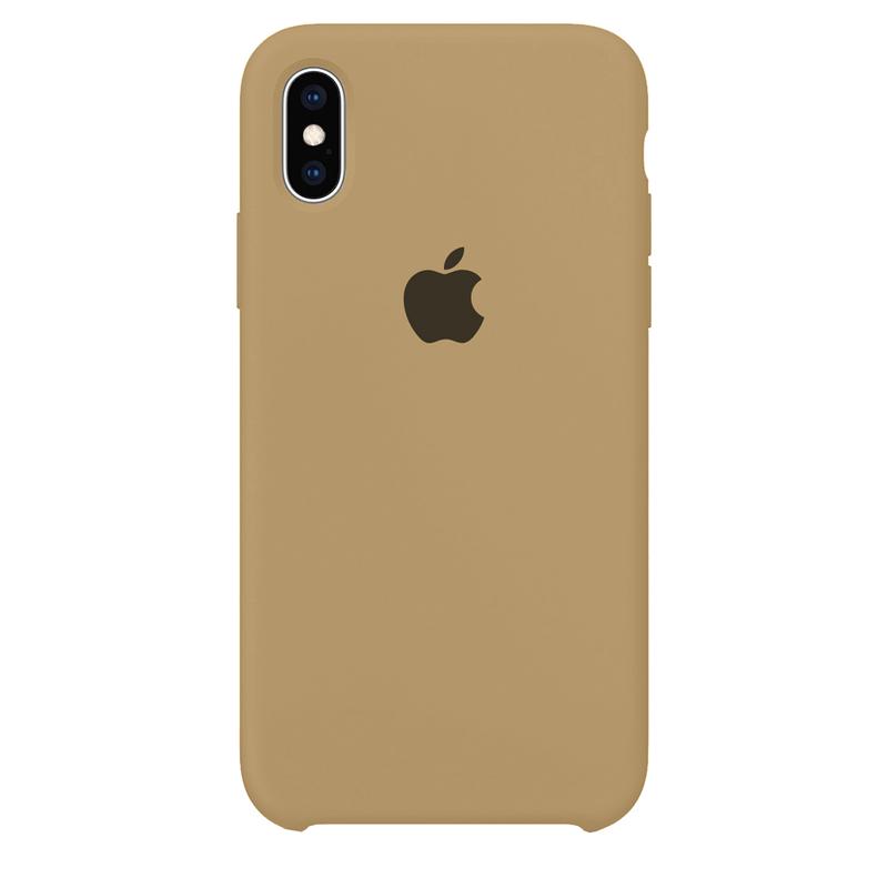 Case Capinha Caramelo para iPhone X e XS de Silicone